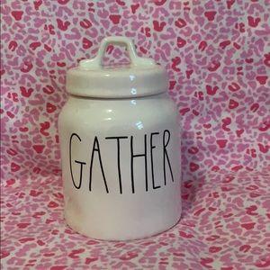 Rae Dunn Gather Canister